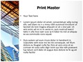 Office Building Editable PowerPoint Template
