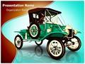 Antique Car Editable PowerPoint Template