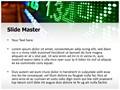 Stock Market Display Editable PowerPoint Template