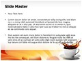 Sugar And Coffee Editable PowerPoint Template