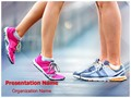Jogging Workout Training Editable PowerPoint Template