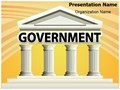 Architecture Government Building Editable PowerPoint Template