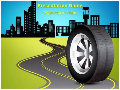 Automobile and Transportation Editable PowerPoint Template