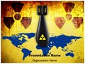 Radioactive Nuclear Threat Editable PowerPoint Template