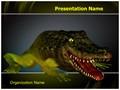 Chimera Genetics Frog Crocodile Editable PowerPoint Template