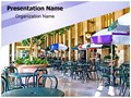 Food Court Editable PowerPoint Template