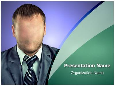 Manager Hidden Identity Editable PowerPoint Template