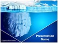 Floating Iceberg Editable PowerPoint Template