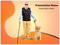 Blindness Editable PowerPoint Template