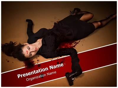 Agent Dead Editable PowerPoint Template