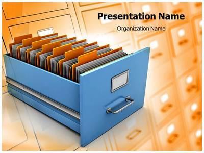 Data Management Editable PowerPoint Template