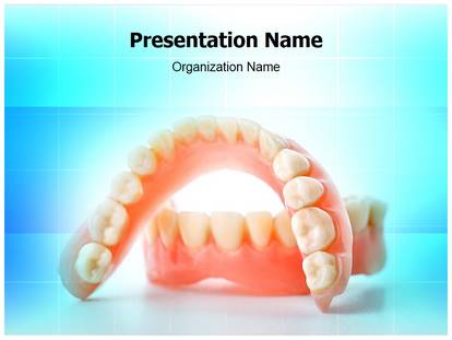 Free dental casting medical powerpoint template for medical dental casting powerpoint template toneelgroepblik Image collections