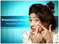 Acne Pimple Editable PowerPoint Template
