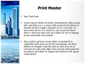 Business Town Editable PowerPoint Template