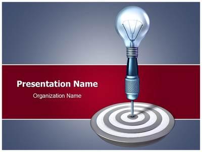 Target Idea Editable PowerPoint Template