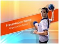 Handball Editable PowerPoint Template