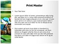 Racing Horses Editable PowerPoint Template