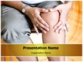 Massaging Knee Editable PowerPoint Template
