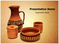 Pottery Editable PowerPoint Template