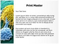 Cancer Cells Editable PowerPoint Template