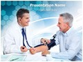 Doctor And Patient Editable PowerPoint Template