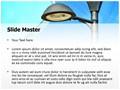 Solar Light Editable PowerPoint Template