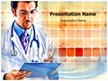 Doctor Writing Editable PowerPoint Template