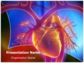 Pulmonary Trunk Vein Editable PowerPoint Template