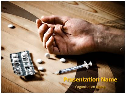 Free Drug Overdose Medical Powerpoint Template For Medical