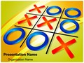 Crisscross Tic Tac Toe Editable PowerPoint Template