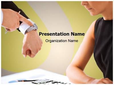 Discipline Editable PowerPoint Template