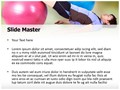 Exercise With Ball Editable PowerPoint Template