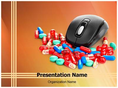 Online Medical Store Editable PowerPoint Template