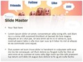 Communication Social Network Editable PowerPoint Template