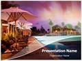 Resort Editable PowerPoint Template
