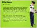 Police Arrest Editable PowerPoint Template