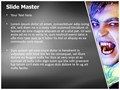 Vampire Editable PowerPoint Template