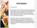 Cheering People Editable PowerPoint Template