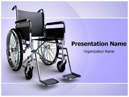 Free wheelchair medical powerpoint template for medical powerpoint free wheelchair medical powerpoint template for medical powerpoint presentations toneelgroepblik Images
