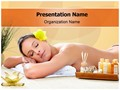 Spa Massage Editable PowerPoint Template