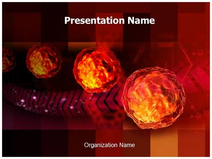Free polio virus medical powerpoint template for medical powerpoint polio virus powerpoint template toneelgroepblik