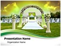 Wedding Arrangement Editable PowerPoint Template