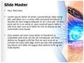 Eye Effect Editable PowerPoint Template