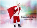 Santa Claus Editable PowerPoint Template
