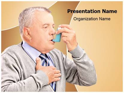 Free asthma inhaler treatment medical powerpoint template for asthma inhaler treatment powerpoint template toneelgroepblik Images