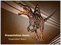 Carnivore Dinosaur Editable PowerPoint Template