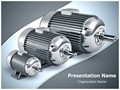 Electric motors Editable PowerPoint Template