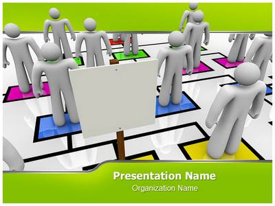 Absent Editable PowerPoint Template