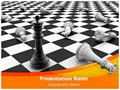 Chess king Editable PowerPoint Template