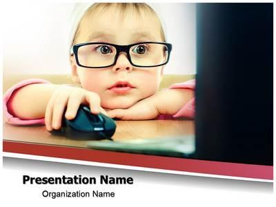 Cute Child Development Editable PowerPoint Template